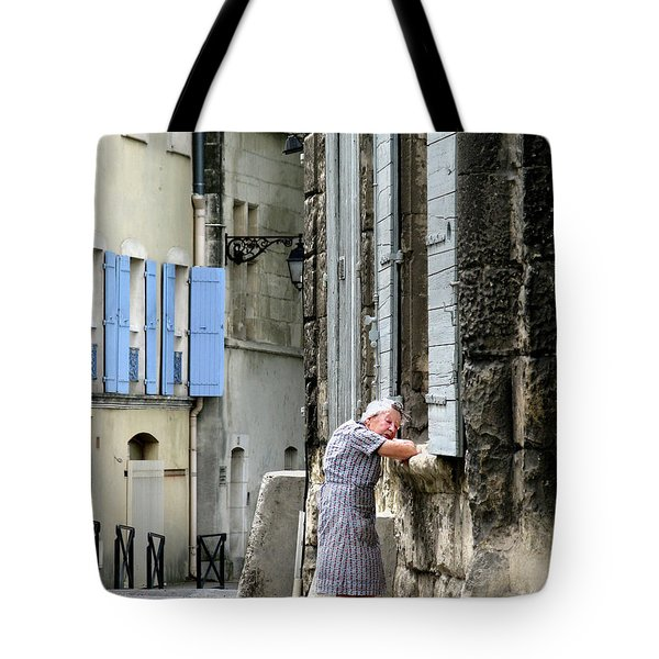 Another Nap.arles.france Tote Bag by Jennie Breeze