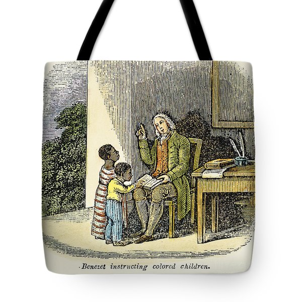 Anthony Benezet (1713-1784) Tote Bag by Granger