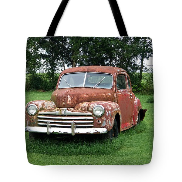 Antique Ford Car 1 Tote Bag by Douglas Barnett