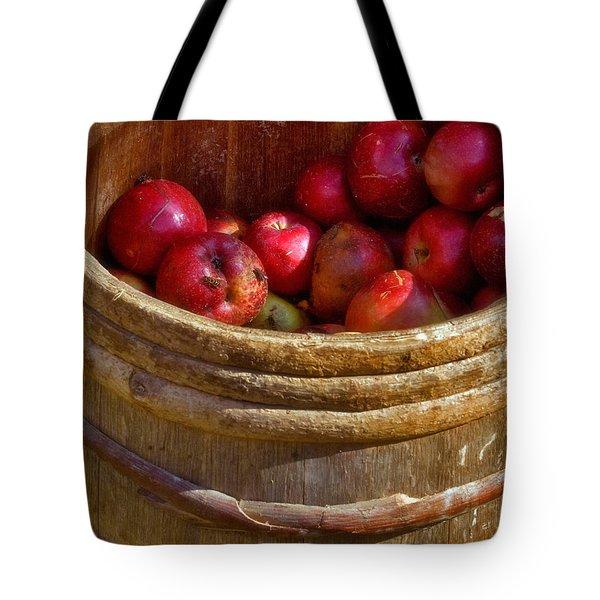 Apple Harvest Tote Bag by Joann Vitali
