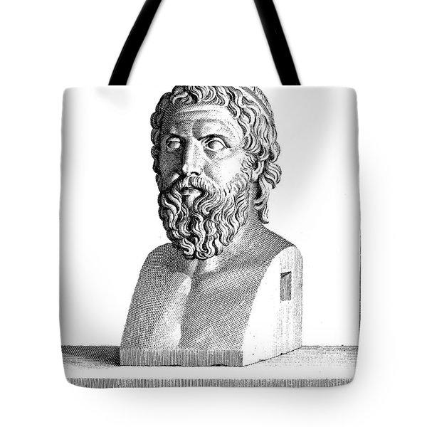 Aristophanes (c450-c388 B.c.) Tote Bag by Granger