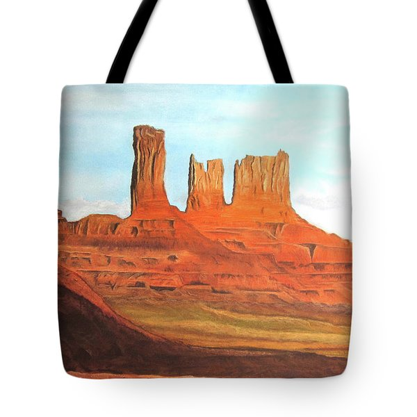 Arizona Monuments Tote Bag