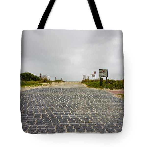 Arriving At The End Tote Bag by Betsy Knapp