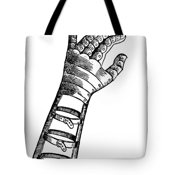 Artificial Hand Designed By Ambroise Tote Bag by Science Source