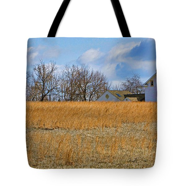 Artist In Field Tote Bag