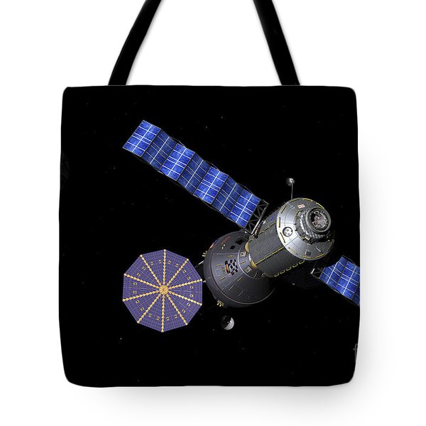 Artists Concept Of The Deep Space Tote Bag by Walter Myers