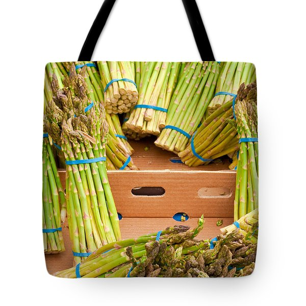 Asparagus Tote Bag by Tom Gowanlock