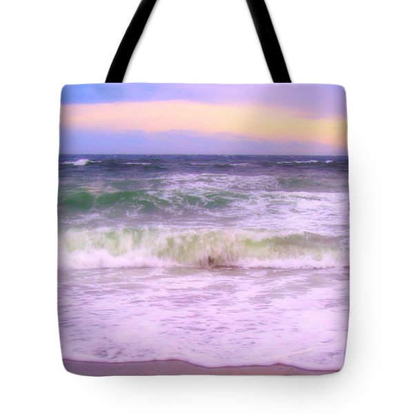 At The Seashore Tote Bag by Marilyn Wilson