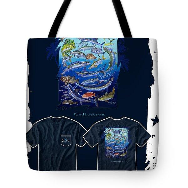 Atlantic Gamefish Tote Bag