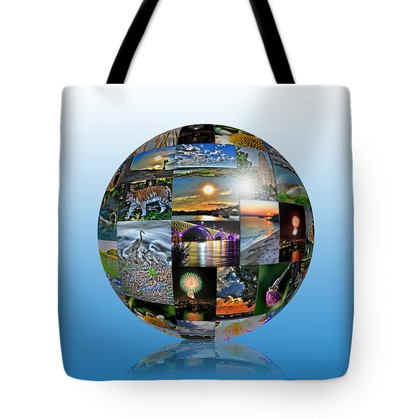 Attractions In Buffalo Ny And Surrounding Areas Tote Bag by Michael Frank Jr