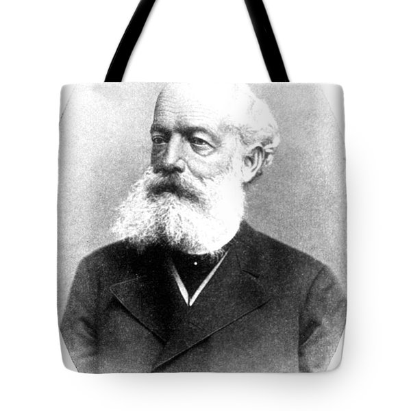 August Kekul�, German Organic Chemist Tote Bag by Science Source