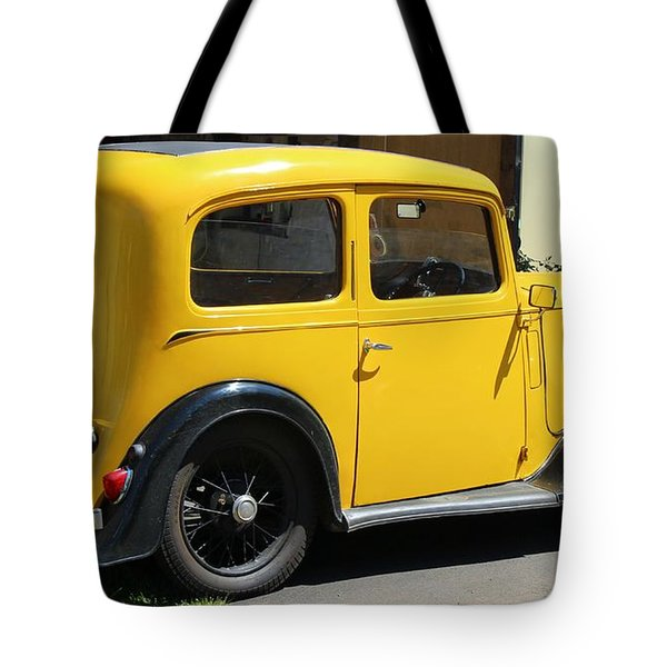 Austin Healey Seven 1937 Tote Bag by Rene Triay Photography