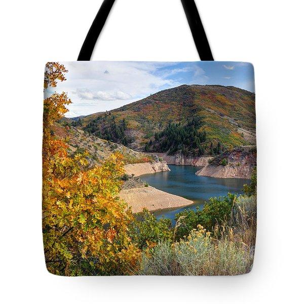 Autumn At Causey Reservoir - Utah Tote Bag