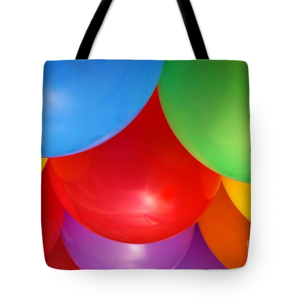 Balloons Background Tote Bag by Carlos Caetano