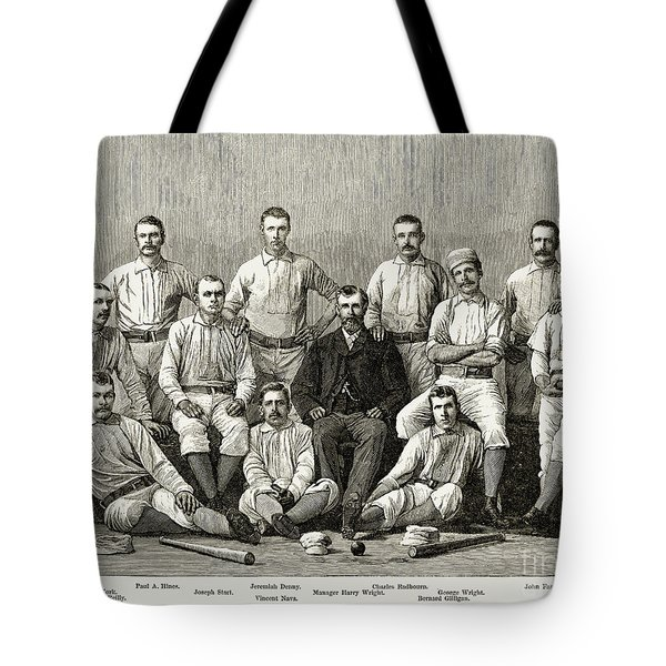 Baseball: Providence, 1882 Tote Bag by Granger