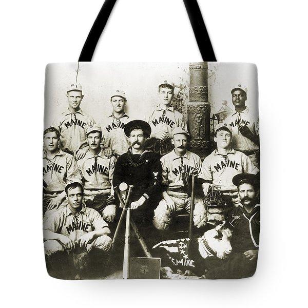 Baseball Team, C1898 Tote Bag by Granger