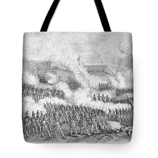 Battle Of Monterrey, 1846 Tote Bag by Granger