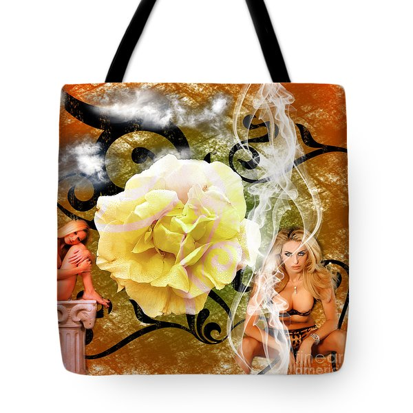 Tote Bag featuring the photograph Beauty by Clayton Bruster