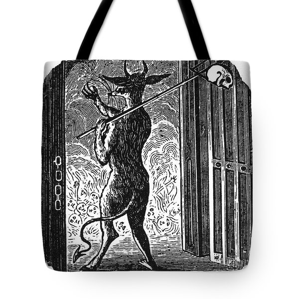 Bewick: Devil Tote Bag by Granger