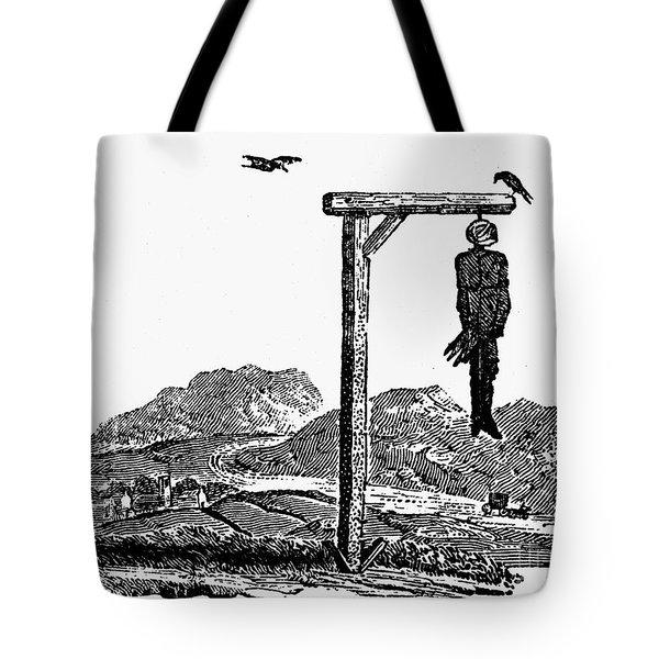Bewick: Hanged Man Tote Bag by Granger