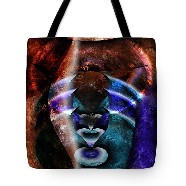 Beyond The Mask Tote Bag by Christopher Gaston