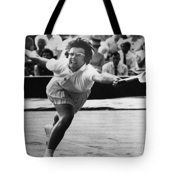 Billie Jean King (1943- ) Tote Bag by Granger