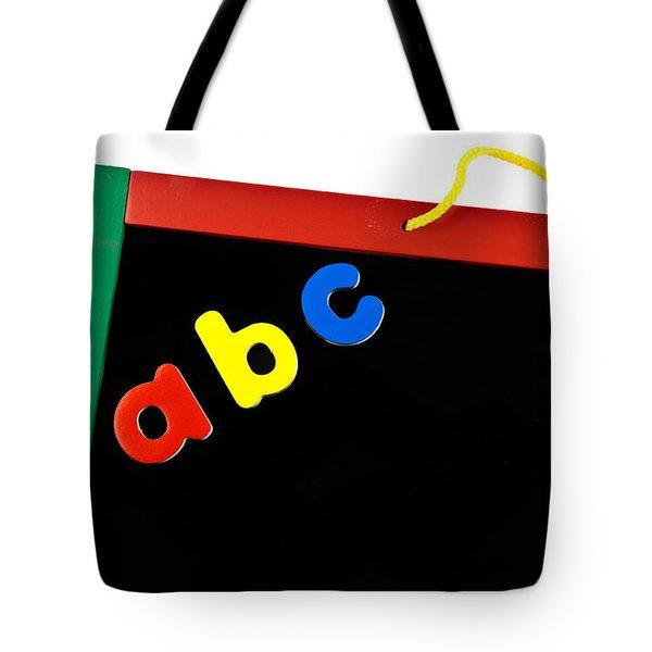 Black Board Tote Bag
