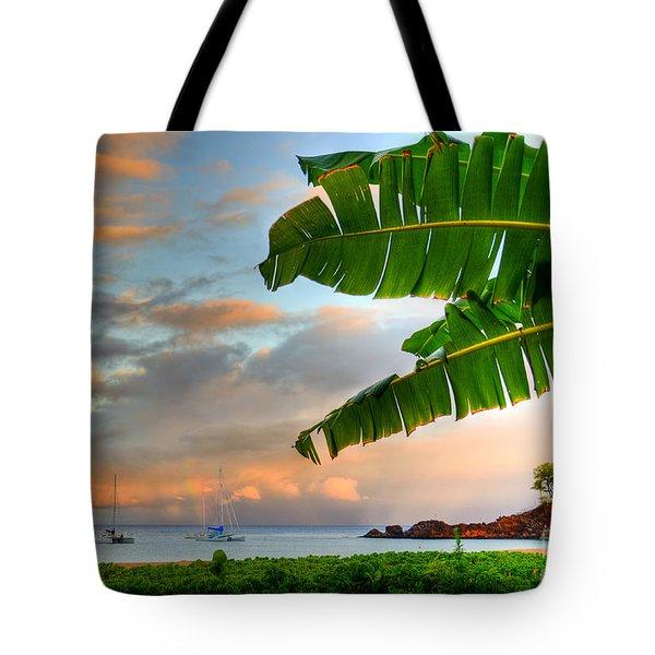 Black Rock Sunrise Tote Bag