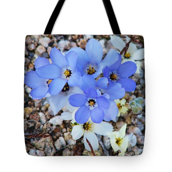 Rare Blue Parry Gilia Tote Bag by Michele Penner