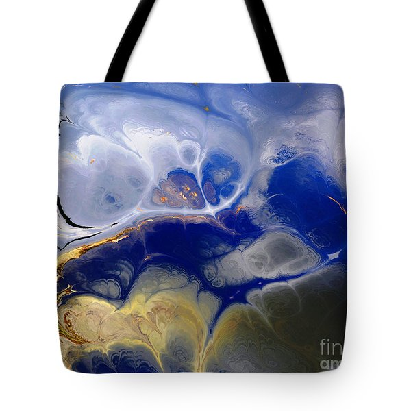 Tote Bag featuring the photograph Blue Skies by Donna Bentley
