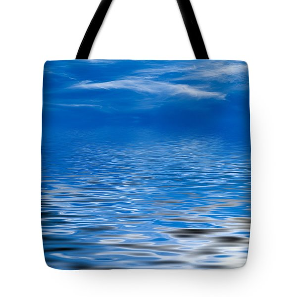 Blue Sky Tote Bag by Kati Molin