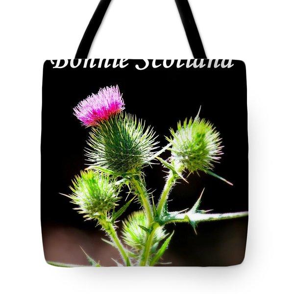 Bonnie Scotland Tote Bag