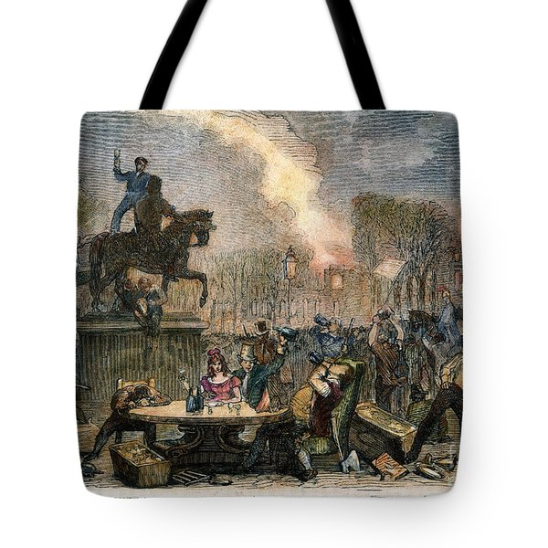 Bristol: Reform Riot, 1831 Tote Bag by Granger