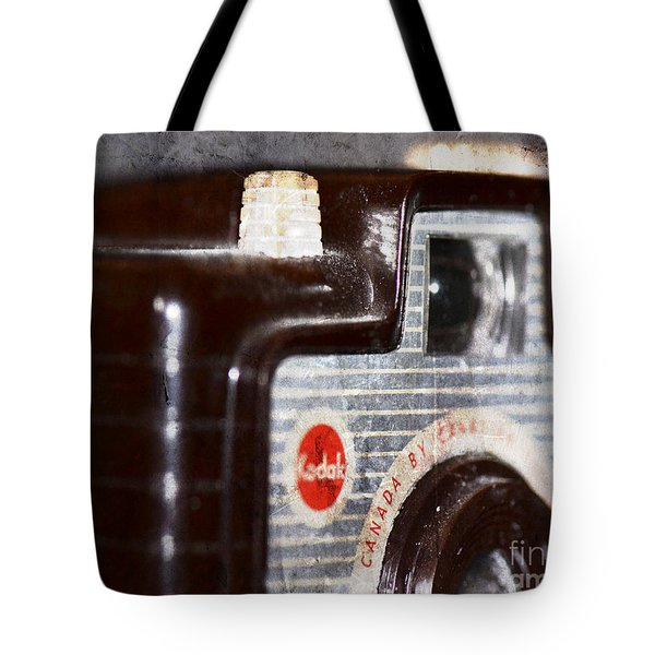 Tote Bag featuring the photograph Brownie by Traci Cottingham