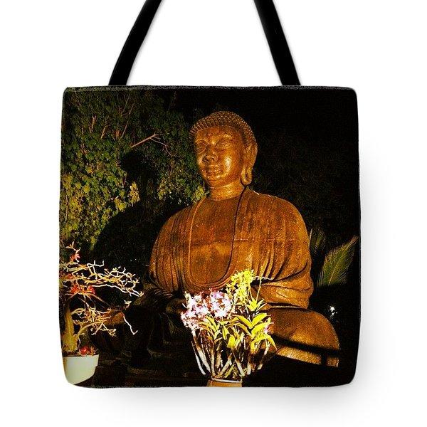 Buddha Tote Bag by Darice Machel McGuire