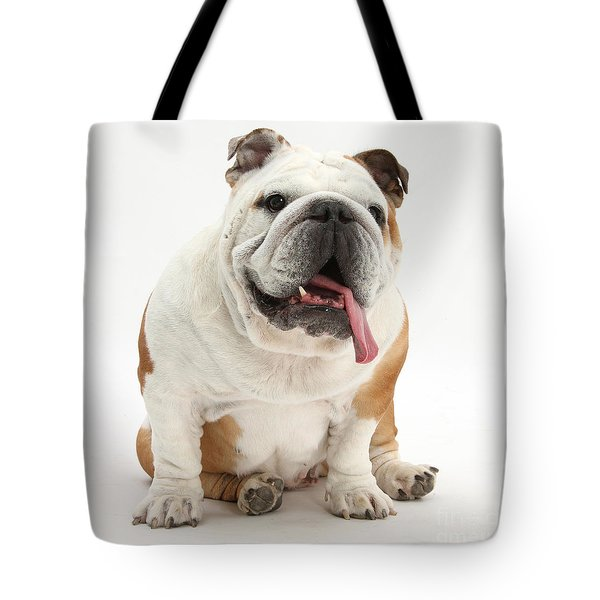 Bulldog Tote Bag by Mark Taylor
