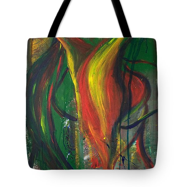 Butterfly Caught Tote Bag by Sheridan Furrer