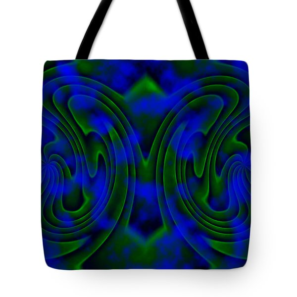 Butterfly Tote Bag by Christopher Gaston