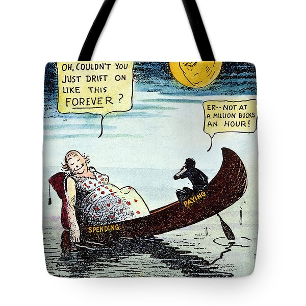 Cartoon: New Deal, 1935 Tote Bag by Granger