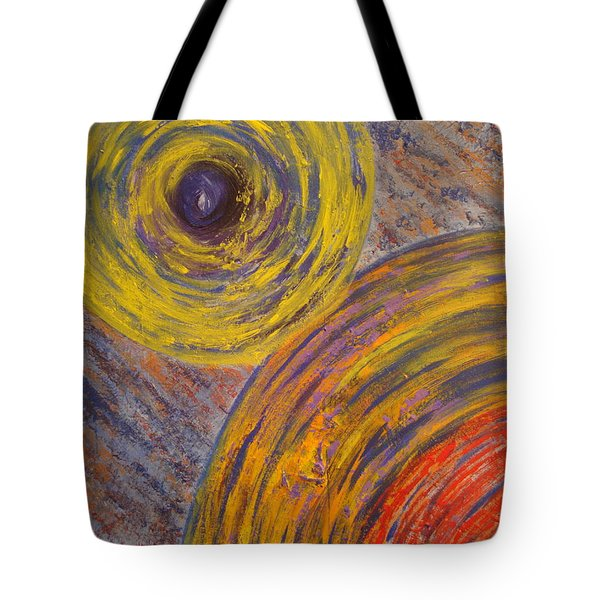 Centrifugal Whirls Tote Bag