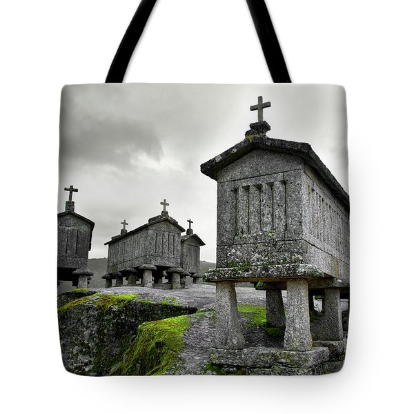 Cereal Keepers Tote Bag by Carlos Caetano
