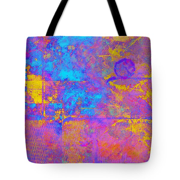 Chemiluminescence Tote Bag by Christopher Gaston