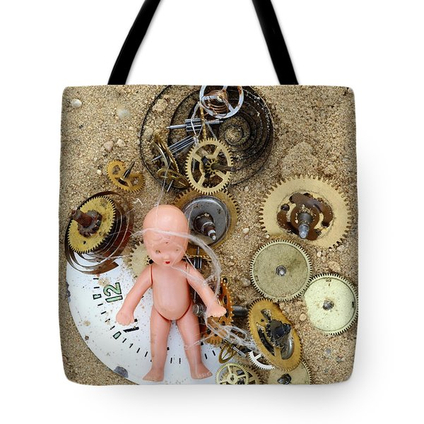 Child In Time Tote Bag by Michal Boubin