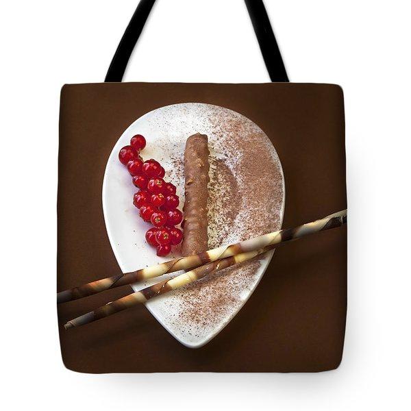 Chocolate Praline Tote Bag by Joana Kruse