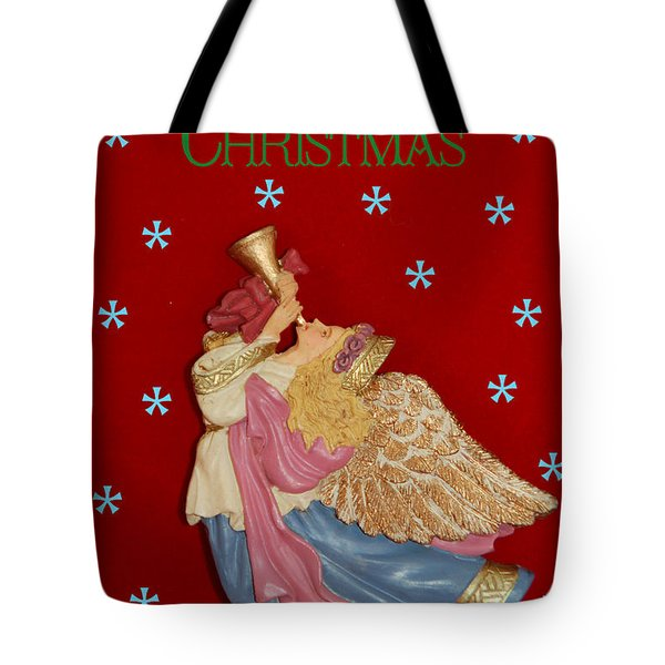 Christmas Angel Tote Bag by Aimee L Maher Photography and Art Visit ALMGallerydotcom