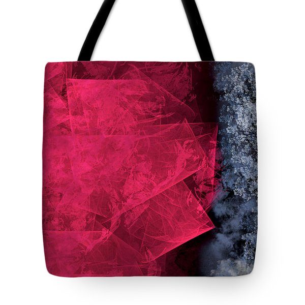 Christmas Frost Tote Bag by Christopher Gaston