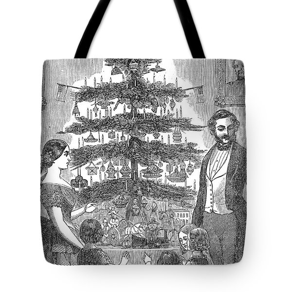 Christmas Tree, 1864 Tote Bag by Granger