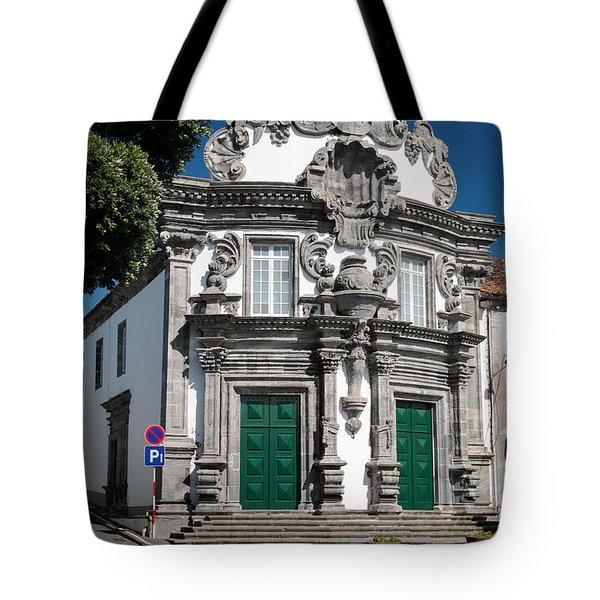 Church Tote Bag by Gaspar Avila