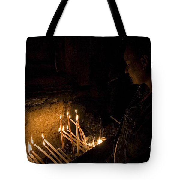 Church Of The Holy Sepulchre Tote Bag