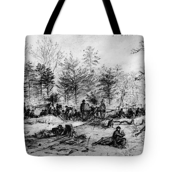 Civil War: Spotsylvania Tote Bag by Granger